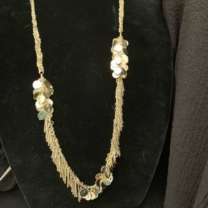 Jewelry - Gold coin necklace 30 inches
